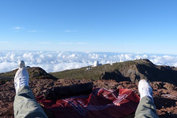 Prière sur un volcan, La Palma