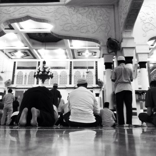 Quelque part, dans une mosquée