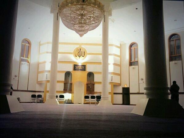 Au centre islamique de Cleveland aux Etats-Unis
