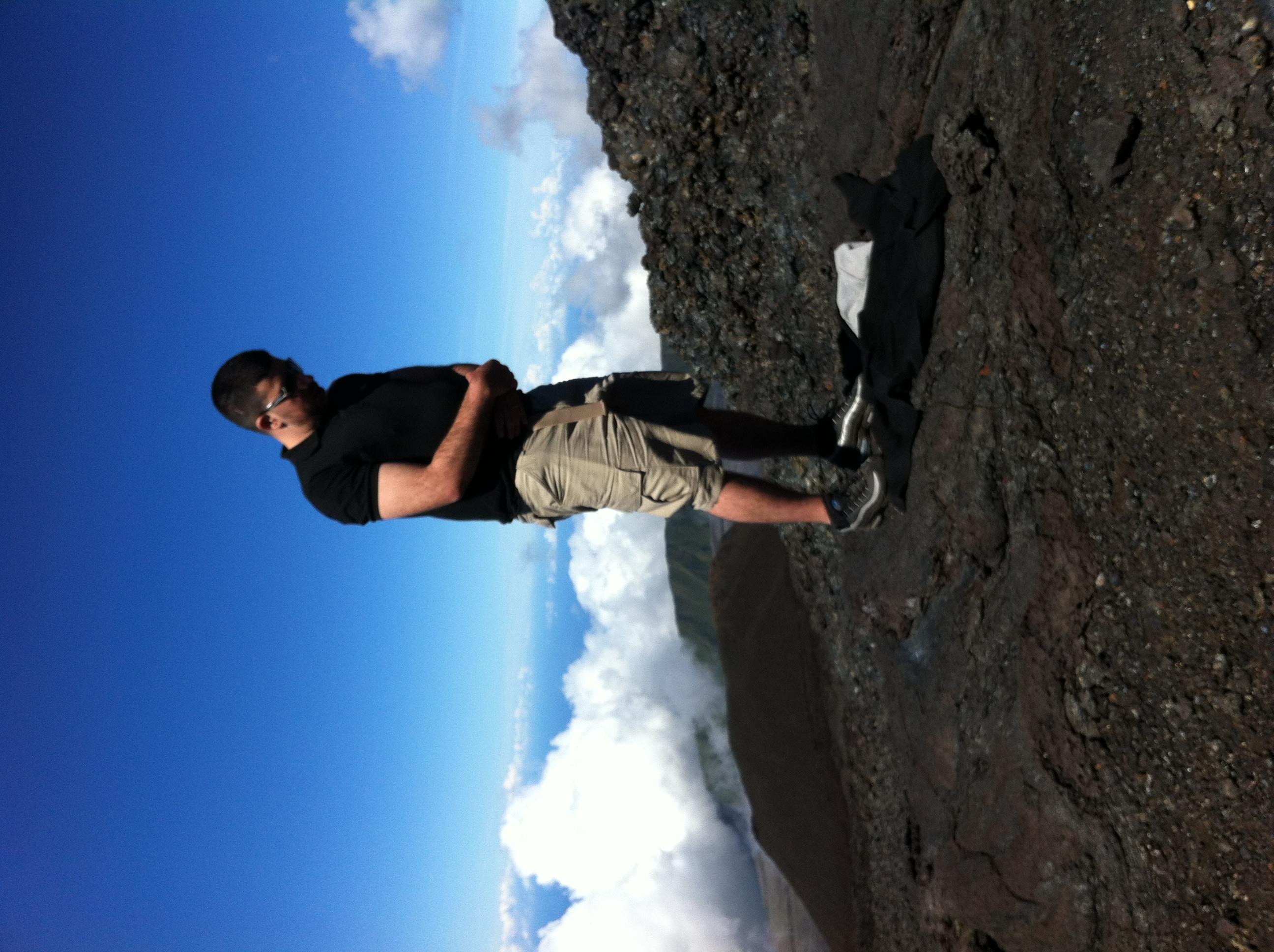 Dohr et Asr sur le Piton de la Fournaise, à L'île de la Réunion
