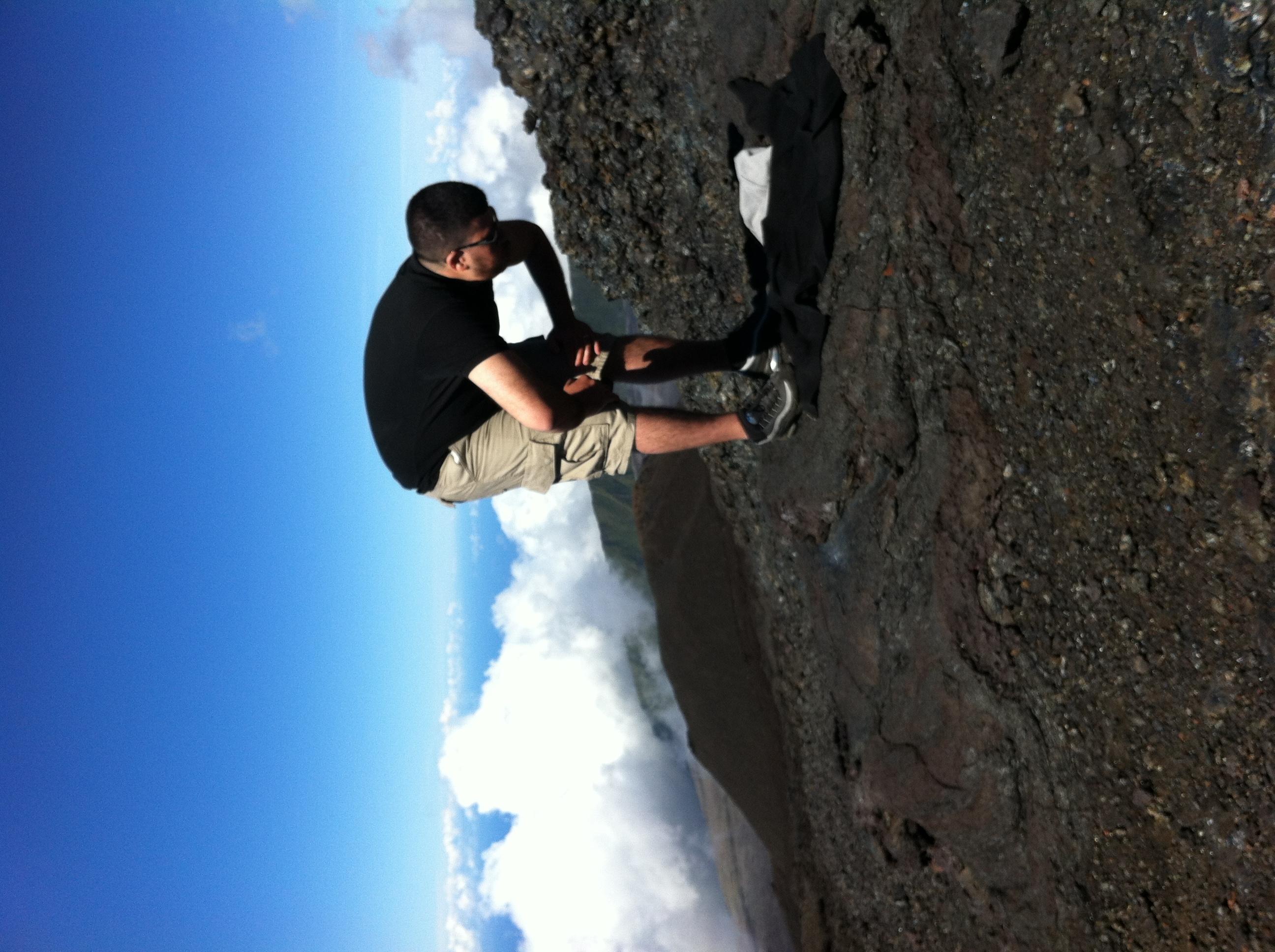 Dohr et Asr sur le Piton de la Fournaise, à L'île de la Réunion 2