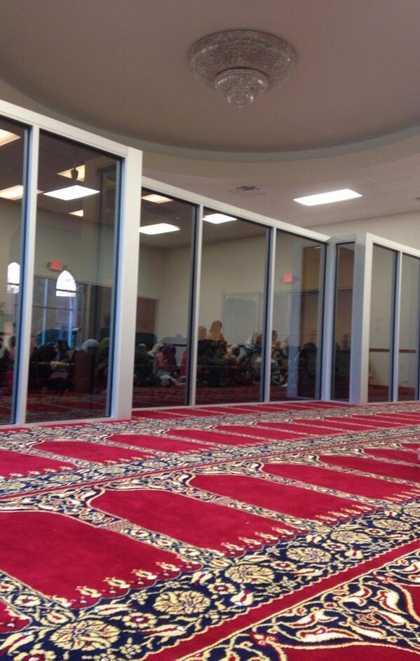 Dans une mosquée à Cleveland, aux Etats-Unis