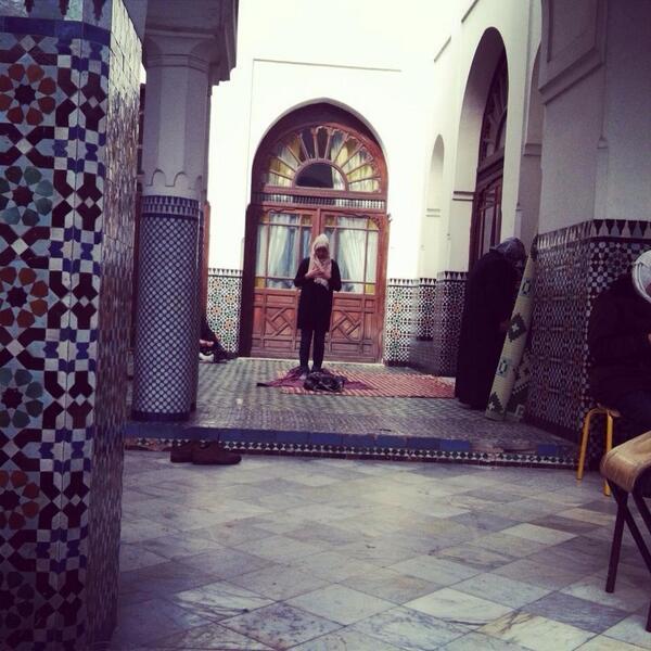 A la Grande Mosquée de Paris