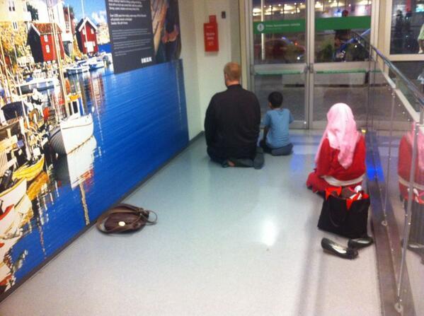 Dans un magasin IKEA