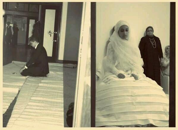 Pendant un mariage