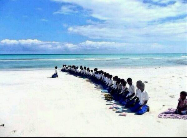 Sur la plage Hobyo, en Somalie