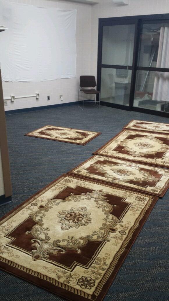 Salle de prière dans un hopital à Milwaukee, aux Etats-unis