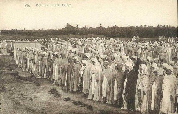 Prière de l'Aid en Algérie