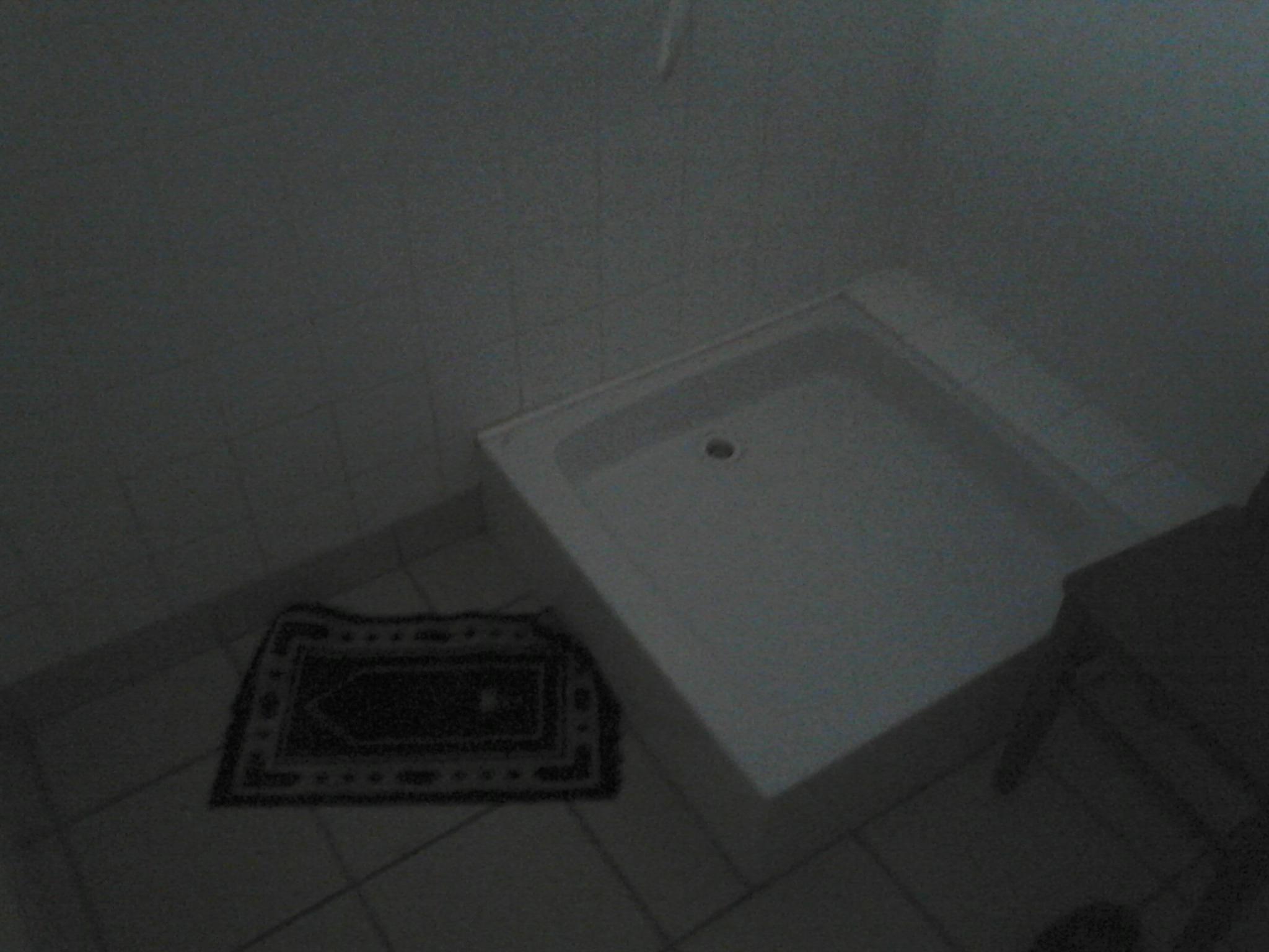 Dans une salle de bain/vestiaire d'un service de soins infirmiers à domicile, à Besancon