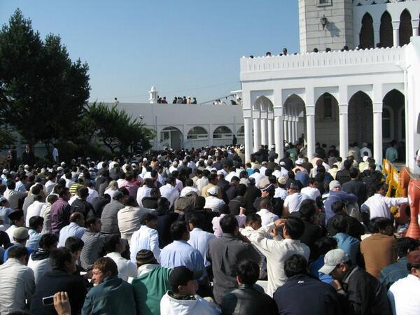 A la mosquée centrale de Seoul, en Corée du Sud