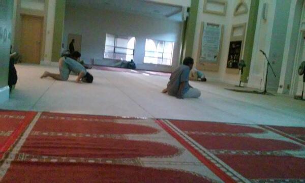 Quelque part dans une mosquée