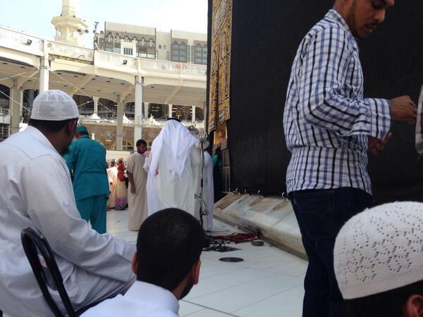 Au pied de la Kaaba