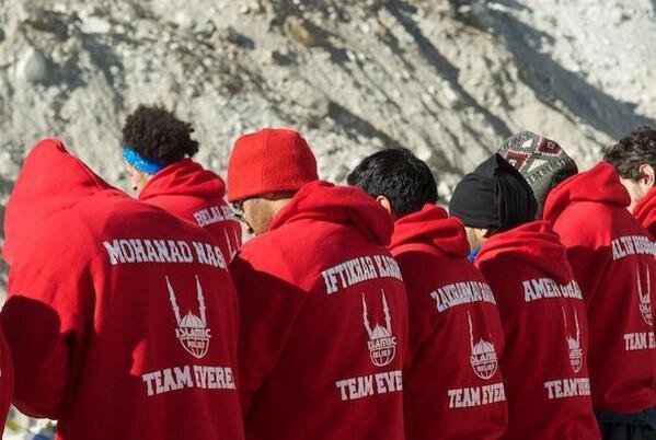 Sur le mont Everest