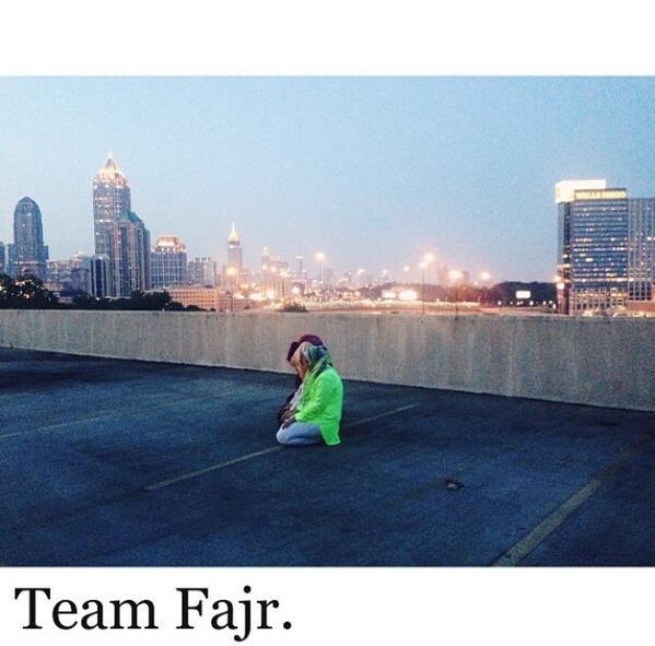 Salat al-Fajr à Atlanta, dans l'état de Géorgie aux Etats-Unis