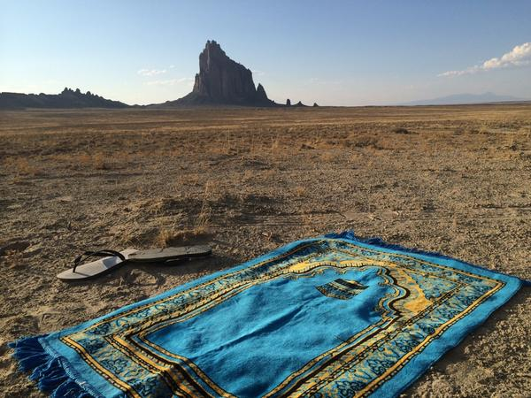 A Shiprock, New Mexico, USA