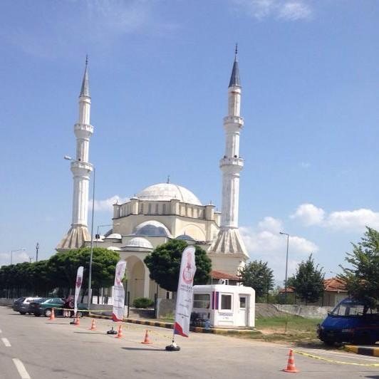 Dans une mosquée en Turquie