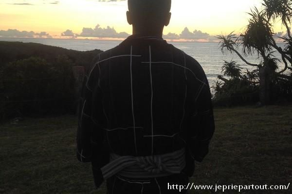 Au Japon sur l'île d'Okinawa