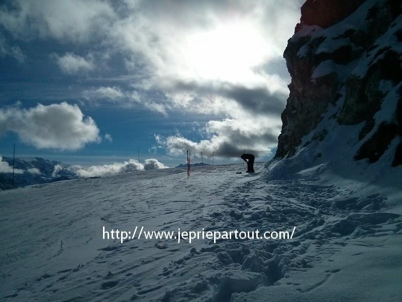 prière neige alpe
