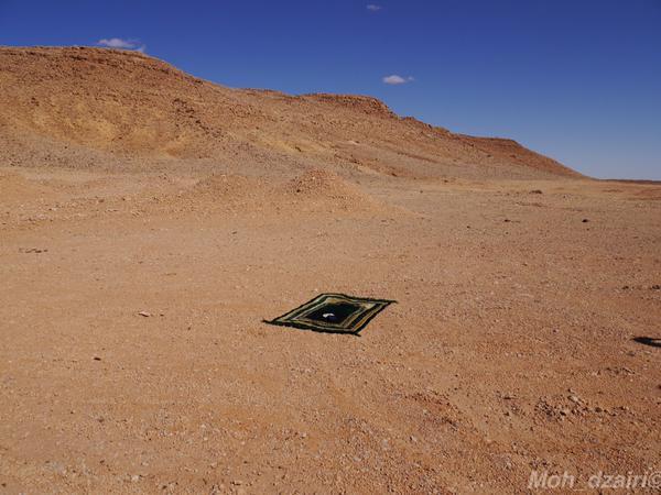 Dans le désert du Sahara