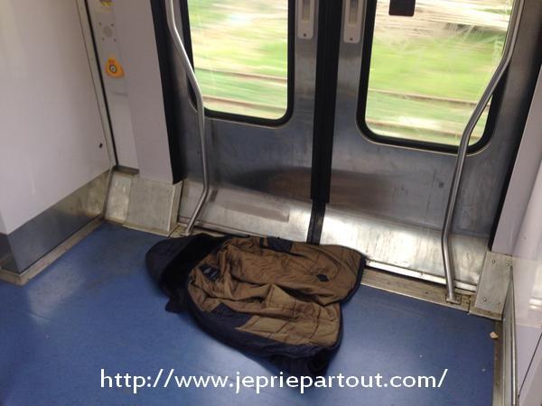 Dans le RER B