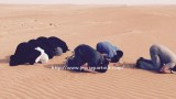 Lors d'une traversée du désert du sultanat d'Oman