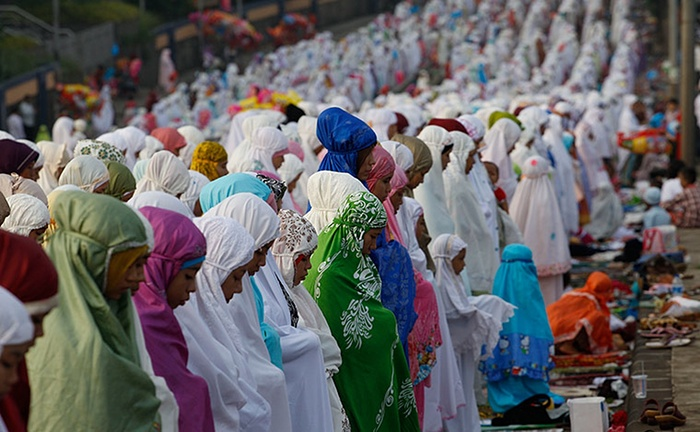 prière Eid Al-Fitr