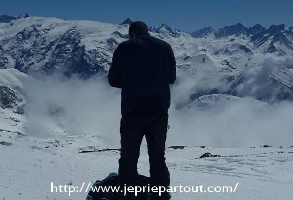 Dans une station d'Alpe d'Huez